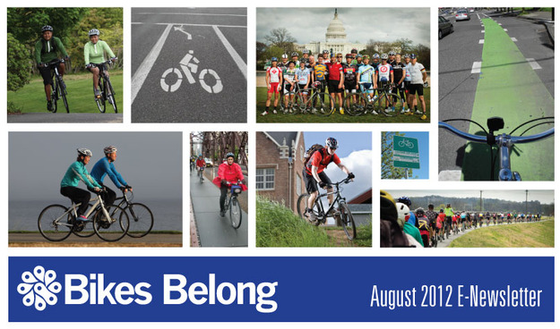 Bikes Belong August Enews